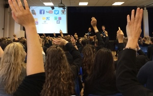 Eagle Radio Teaches Pupils about Internet Safety, Law and Ethics