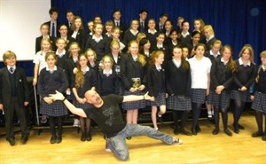 Author Alex Scarrow Visits Dunottar School