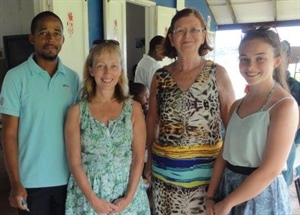 Students Raise Cash for Caribbean Namesake