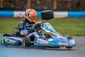 Alfie overcomes odds at Buckmore Park Kart Championship