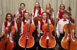 Dunottar Chamber Ensemble Cellists give 'stunning' Performance
