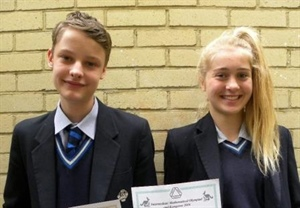 Students Gain Gold in National Mathematics Challenge