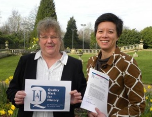 Dunottar's History Department First in Surrey to receive Historical Association Quality Mark!
