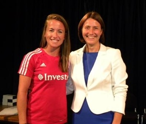 GB Sportswoman Inspires Students to Tackle the Challenges of Life