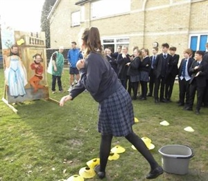 Students Soak Teachers for Charity