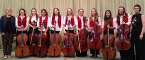 School Chamber Ensemble Scores a Hat Trick!