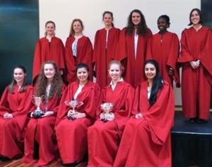 Dunottar Choir Wins Three Cups at Festival