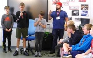 School Combines Beatboxing with Shakespeare