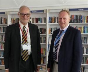 MP Crispin Blunt visits Dunottar School