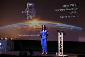 High flying BBC Finalist inspires Students with Stories of Aspiration, Resilience and Tenacity
