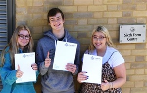 Year 11 Pupils looking forward to starting A Levels!