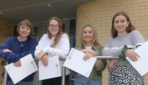 Students Celebrate A Level Success at Dunottar