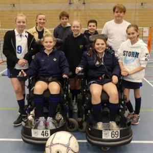 Pupils raise over £400 for Whizz-Kidz