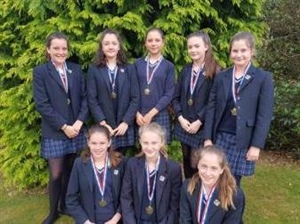 U13A netball team are the District League winners for this season!