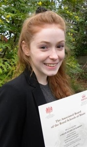 More Accolades for Gifted Student Chloe Barnes