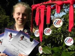 Record-breaking Swimmer Gains More Medals
