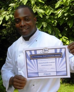 School Chef Wins National Outstanding Performance Award