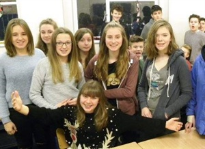 Pupils Raise over £200 in Protest against Human Trafficking